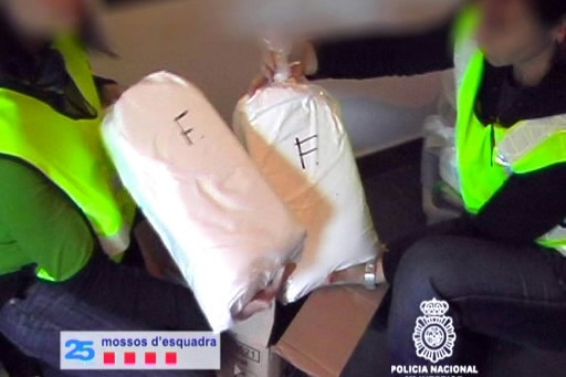 Un important réseau espagnol de transport de drogue par bateaux rapides, a été... (Photo: AFP)