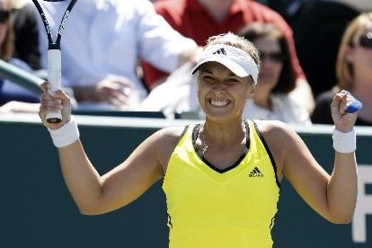 Sabine Lisicki... (Photo: AP)