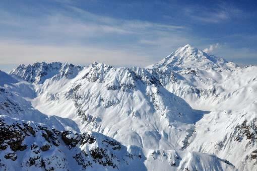 Un massif de l'Alaska.... (Photo AFP)