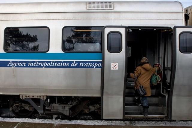 Le train de banlieue de Deux-Montagnes enregistre une chute de presque 5% de sa... (Photo Alain Roberge / Archives La Presse)