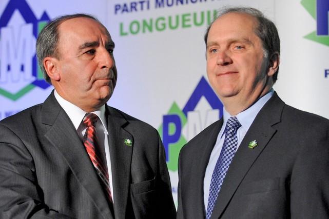 Ému, le maire de Longueuil, claude Gladu, a... (Photo: Bernard Brault, La Presse)