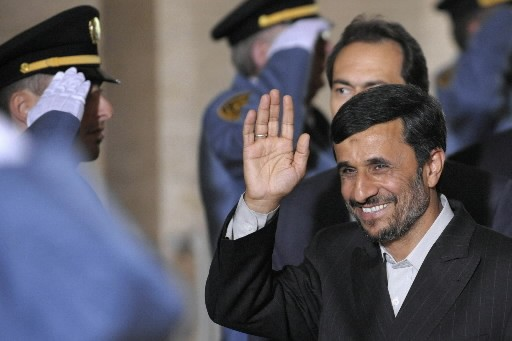 Mahmoud Ahmadinejad... (Photo: AP)