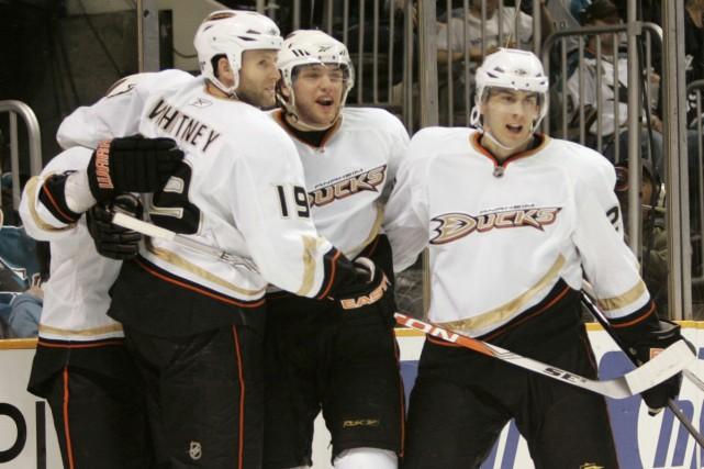 Contre toute attente, les Ducks, huitièmes du classement... (Photo: AP)