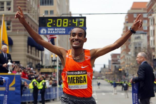Deriba Merga... (Photo: Reuters)