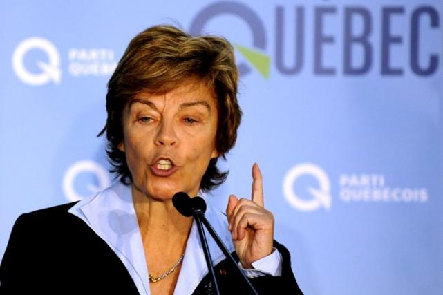 Louise Beaudoin a obtenu la nationalité française en... (Photo: Bernard Brault, archives La Presse)