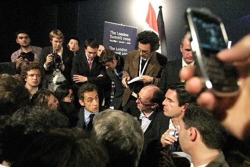 «Zapatero n'est peut-être pas très intelligent. Moi j'en connais qui étaient... (Photo: Reuters)