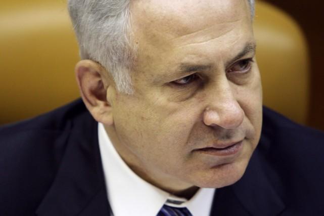 Le premier ministre israélien Benjamin Netanyahu... (Photo: Reuters)