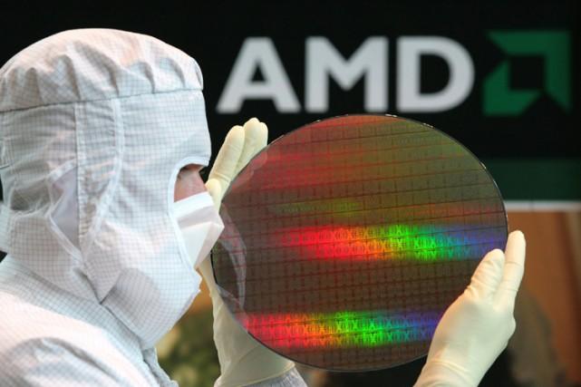 Le groupe américain AMD, deuxième producteur mondial de microprocesseurs, a... (Photo: AP)