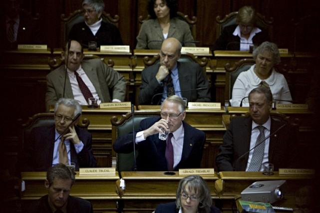 Gérald Tremblay a convoqué mardi une séance extraordinaire... (Photo: Ivanoh Demers, La Presse)
