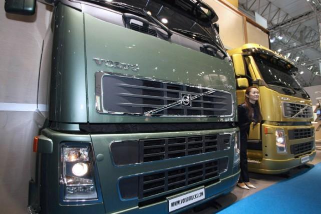 AB Volvo fabrique des camions ainsi que des... (Photo: Bloomberg)