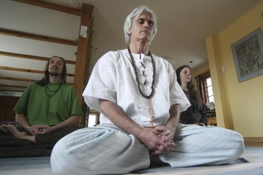 Le Centre Kriya yoga fde Babaji, à Saint-Étienne-de-Bolton... (Photo: Stéphane Champagne, collaboration spéciale)