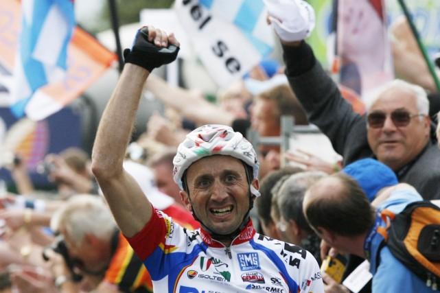 Davide Rebellin... (Photo: Reuters)