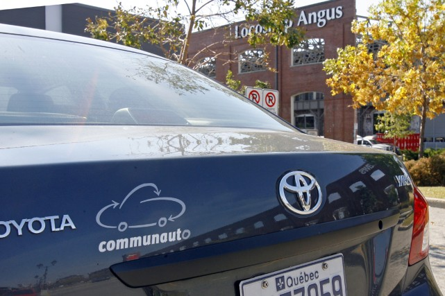 Le manque de temps pour s'inscrire à Communauto ne sera plus une excuse pour ne... (Photo archives, La Presse)