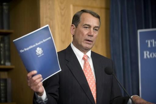 John Boehner... (Photo: AFP)