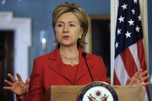 Hillary Clinton... (Photo: AFP)