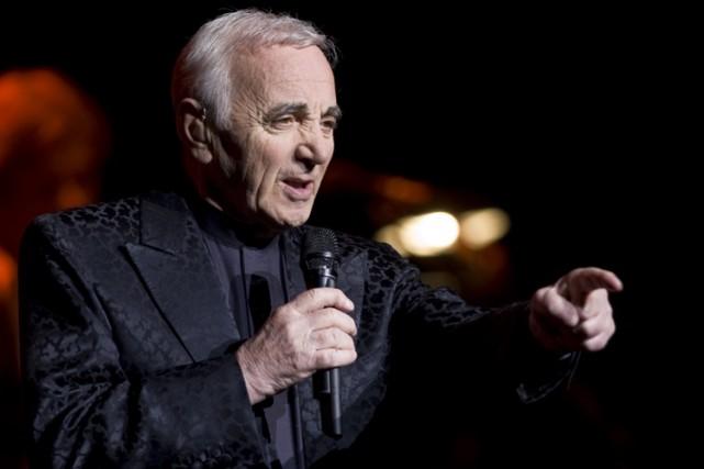 Charles Aznavour... (Photo: André Pichette, La Presse)