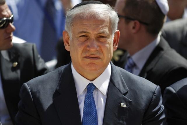 Le premier ministre israélien Benjamin Netanyahu... (Photo: AP)