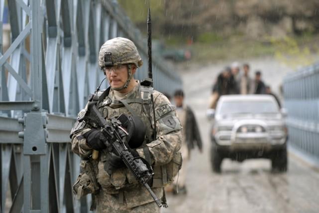 Les troupes américaines sont arrivées à une impasse contre les rebelles du sud... (Photo: AFP)