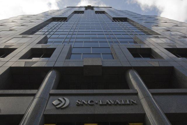 Le siège social de SNC-Lavalin, à Montréal.... (Photo: Rémi Lemée, Archives La Presse)