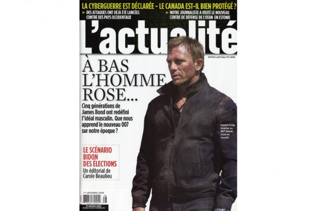 Les Éditions Rogers publient entre autres le magazine... (Photo: La Presse)