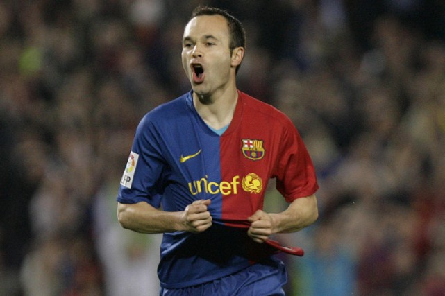 Andres Iniesta... (Photo: AFP)