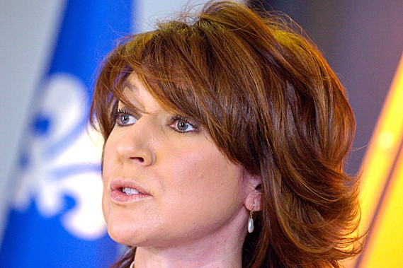 La ministre libérale a confirmé la rumeur de... (Photothèque Le Soleil)