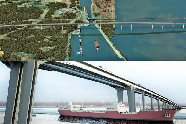 Le premier chantier de l'autoroute 30 devrait commencer... (Photo fournie par Transport Québec)