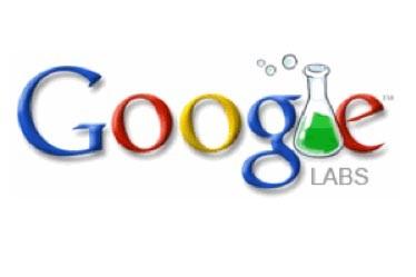 Le logo de Google Labs...