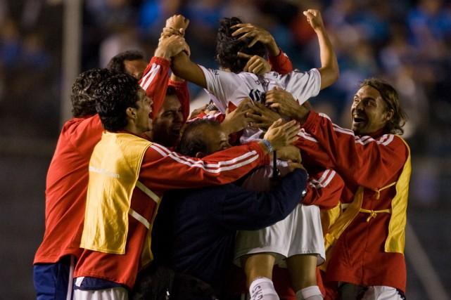 Atlante a remporté le match aller 2-0.... (Photo: AFP)