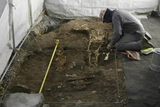 Les os d'une centaine de cadavres du cimetière... (Photo: André Tremblay, La Presse)
