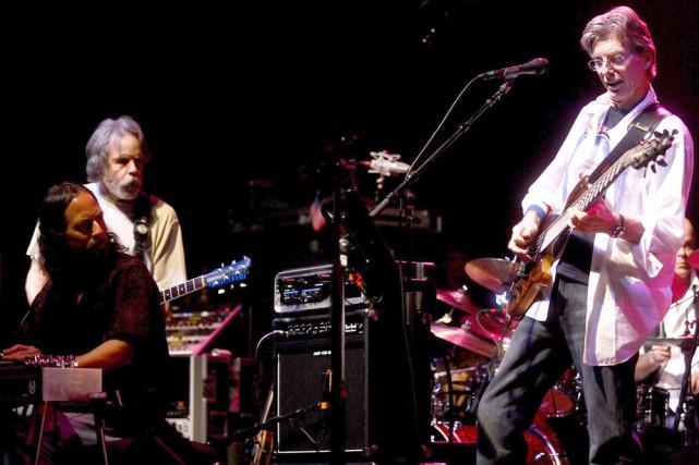 Bob Weir et Phil Lesh du groupe The... (Photo: AP)