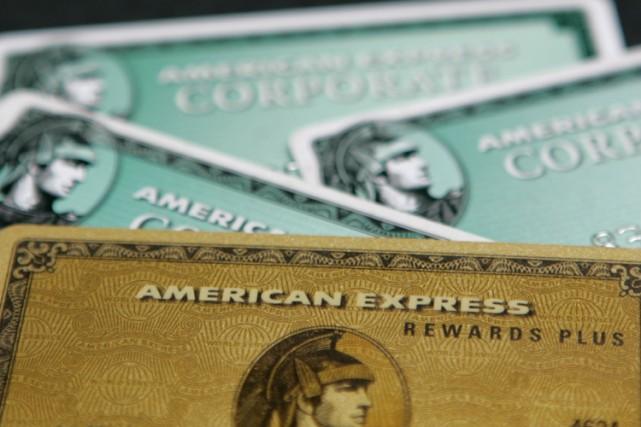 Le groupe américain de services financiers American Express a indiqué jeudi... (Photo: Bloomberg)