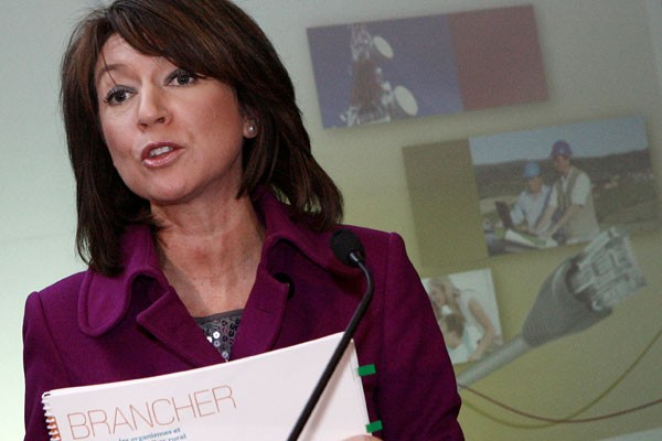 La vice-premiere ministre libérale Nathalie Normandeau.... (Archives, La Presse)