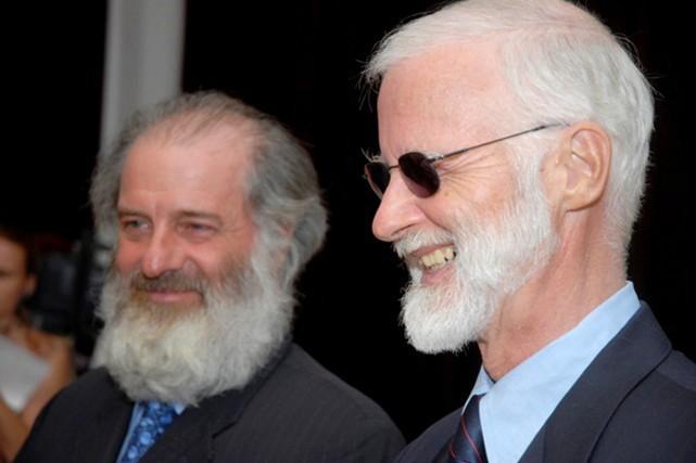 Louis Guay et Robert Fowler rencontreront les membres... (Photo AFP)