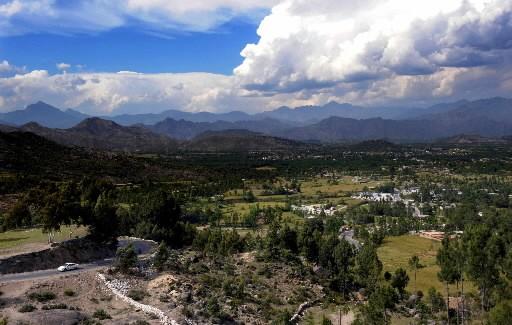 La vallée de Buner... (Photo: AFP)