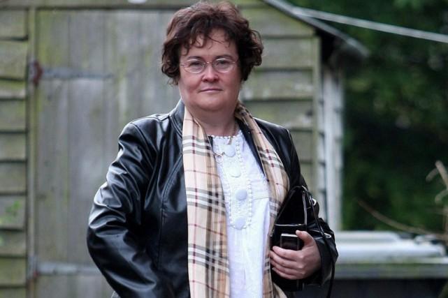 Susan Boyle a modernisé sa coupe de cheveux... (Photo: AP)