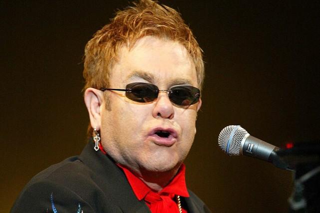 Elton John a perdu 26 % de sa... (Photo: AP)
