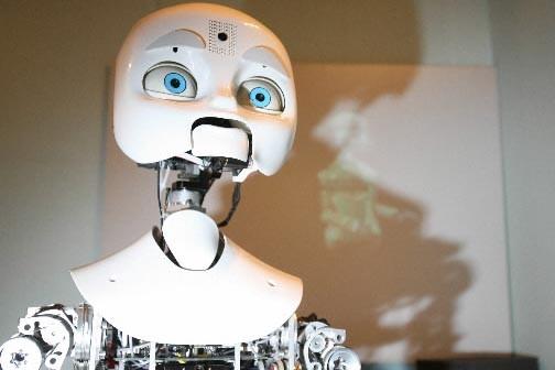 Le robot Nexi... (Photo: AFP)