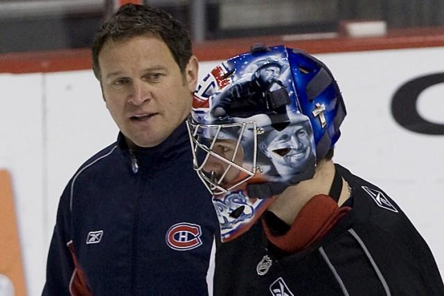 L'entraîneur des gardiens du Canadien, Roland Melanson, affirme... (Photo: André Pichette, La Presse)