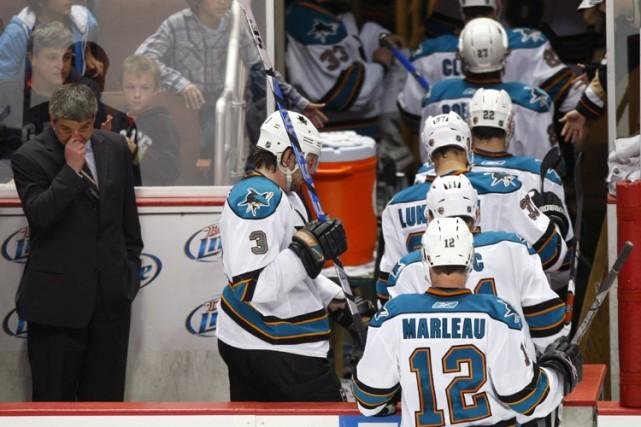 Les Sharks ne sont plus qu'à une défaite... (Photo: Reuters)