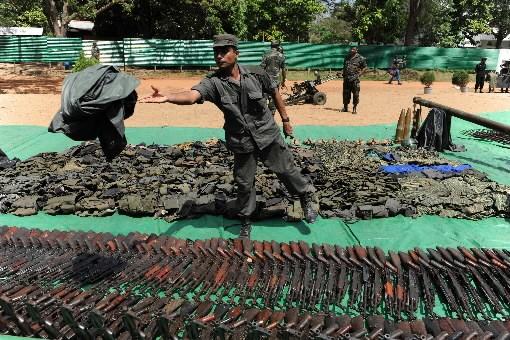 Le gouvernement sri-lankais n'a rien ménagé ces derniers mois pour venir à bout... (Photo: AFP)