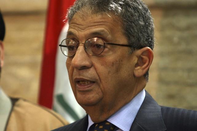 Le secrétaire général de la Ligue arabe, Amr... (Photo: AP)