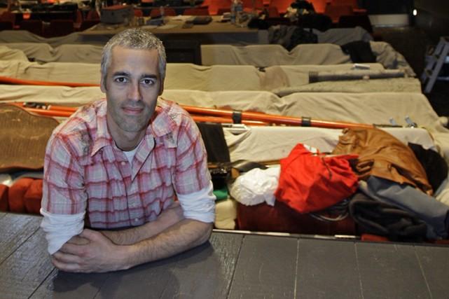Éric Jean, directeur artistique du Quat'Sous.... (Photo: Robert Mailloux, La Presse)