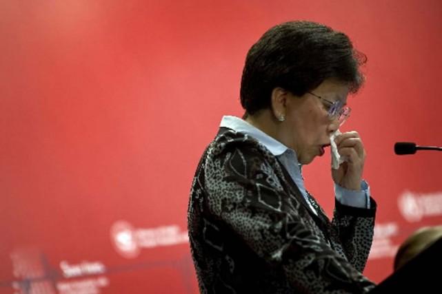 La directrice-générale de l'OMS, Margaret Chan.... (Photo Associated Press)