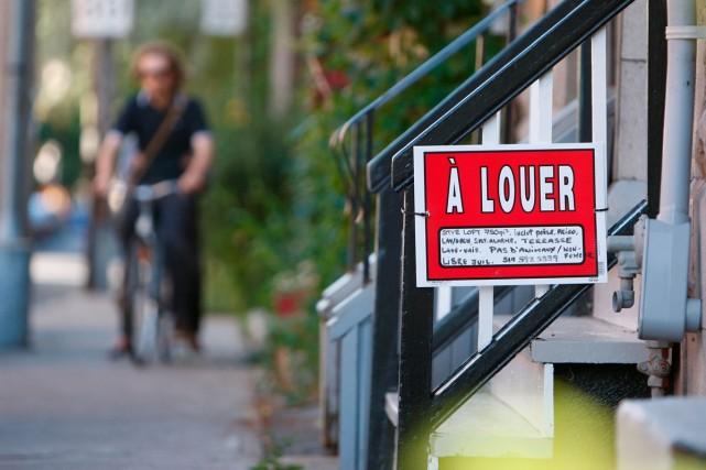 C'est peut-être un signe que la crise du logement se résorbe à Montréal: la... (Photo Martin Chamberland, La Presse)