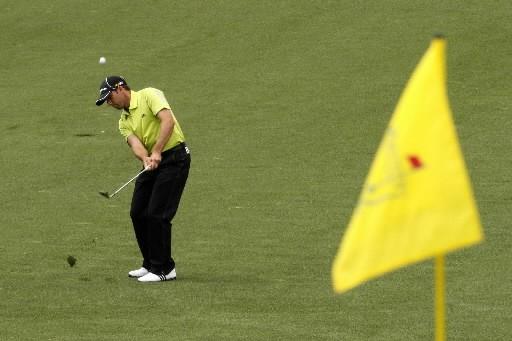 Les bâtons de golf ont-ils atteint leurs limites? Pas du tout, répond Benoît... (Photo: Reuters)