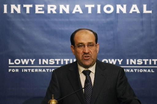 Le premier ministre irakien Nouri al-Maliki.... (Photo: Reuters)