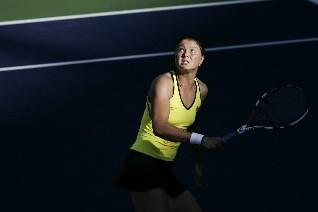 La Russe Dinara  Safina.... (Photo: Reuters)