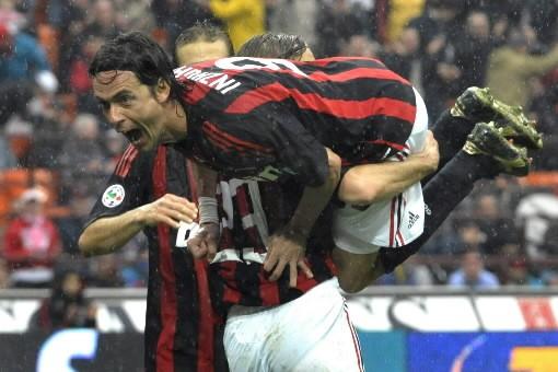 L'AC Milan, qui a battu Palerme (3-0) dimanche à domicile lors de la 33e... (Photo: AP)