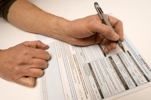La date limite pour produire les déclarations de revenus 2008 approche à grand... (Photo: Alain Roberge, Archives La Presse)